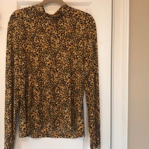 St. John animal print XL